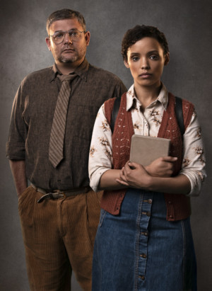 Alan Committie And Nicole Fortuin Star In David Mamet's OLEANNA At Fugard Studio Theatre