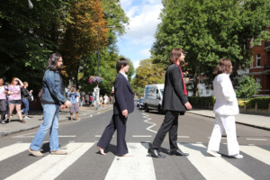 LET IT BE Cast Recreates Iconic Beatles Photo on Abbey Road's 49th Anniversary