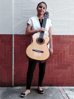 Danaé López Obtiene Primer Lugar En El Concurso Nacional De Guitarra Clásica Manuel López Ramos