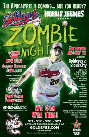 Zombies Invade Shaw Park Again at ZOMBIE NIGHT