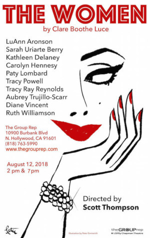 THE WOMEN All-Star Staged Reading Fundraiser Announced at Group Rep