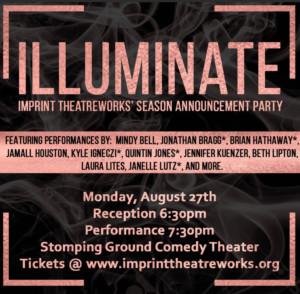 Imprint Theatreworks Season Announce 2018/19 Season
