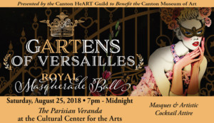 Tickets On Sale Now For The GARTens Of Versailles Royal Masquerade Ball