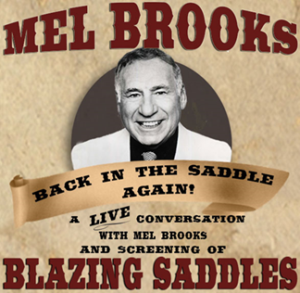 The Backlot Project Hosts An Evening with Mel Brooks