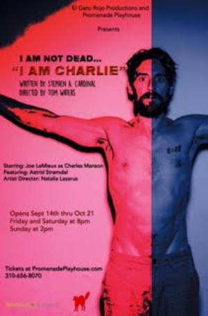 World Premiere Of Intense Drama I AM CHARLIE Opens Sept. 14 at The Promenade Playhouse