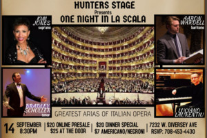 Hunters Stage Presents ONE NIGHT IN LA SCALA