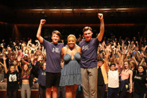 West End Stage Celebrates 10,000th Student With A Visit From DREAMGIRLS Star Marisha Wallace