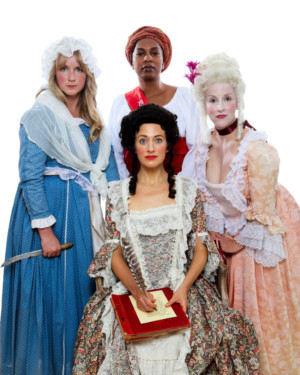 Bay Area Premiere Lauren Gunderson's THE REVOLUTIONISTS Opens Town Hall Theatre Season