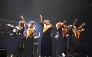 The Harlem Gospel Choir Brings Its Gospel Celebration To The Lincoln