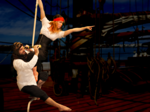 A Big Circus In A Little Space - Cirque Fou Opens Sept. 21 At Players' Ring