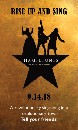 Hamiltunes Sing Along to Celebrate HAMILTON's Arrival in Boston