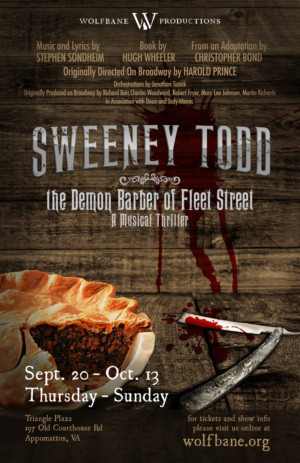 Wolfbane Productions Gets Cooking with SWEENEY TODD: THE DEMON BARBER OF FLEET STREET