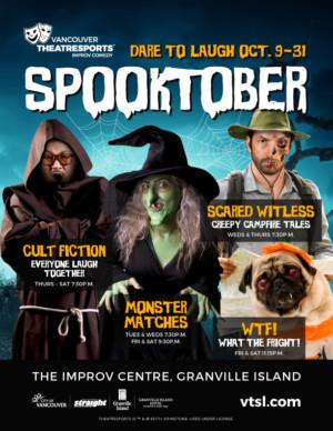 Vancouver TheatreSports Presents SPOOKTOBER