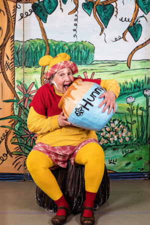 Wild Swan Theater Stages A HONEY POT OF POOH STORIES