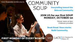 Civic Ensemble Launches Monthly Evening Of Storytelling And Community