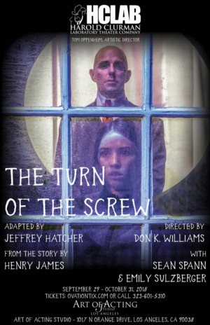 Hclab At The Art Of Acting Studio Presents THE TURN OF THE SCREW