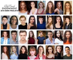 Semi-Finalists Announced For 2018 Rob Guest Endowment Award