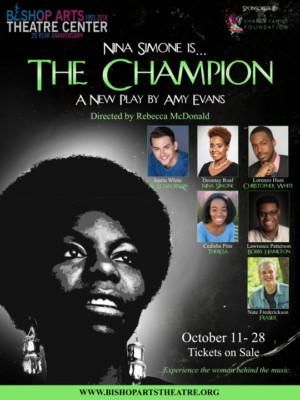 THE CHAMPION Comes to Bishop Arts Theatre Center