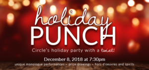 Circle Theatre Presents HOLIDAY PUNCH Fundraiser