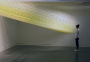 Anne Lindberg Designs A New Color Field For Site-Specific Installation At MAD