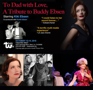 Theatre West Hosts TO DAD WITH LOVE: A TRIBUTE TO BUDDY EBSEN