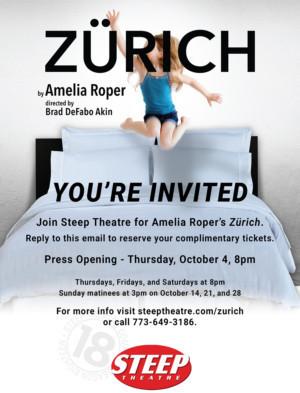 Steep Theatre Presents ZURICH