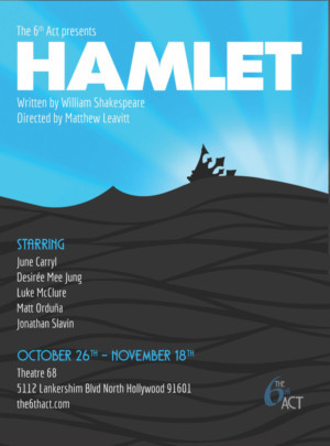 The 6th ACT Presents Five Actors Playing HAMLET