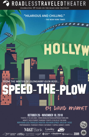 RLTP Opens Its New Home At 456 Main Street With Tony Award Nominated SPEED-THE-PLOW