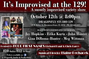 Dragonfly Studios to Present A Halloween Improv Show