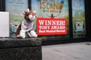 ONCE ON THIS ISLAND Announces Plush Goat Weekend Giveaway!
