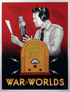 Lakewood Playhouse Presents THE WAR OF THE WORLDS Live Radio Show, 10/12