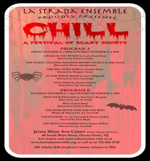 La Strada's CHILLBegins Reign Of TerrorAt Jersey Shore Arts Center In Ocean Grove This Month