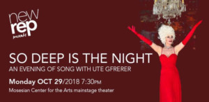 New Repertory Theatre Presents SO DEEP IS THE NIGHT