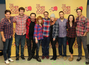THE OTHER JOSH COHEN Kicks Off Rehearsals With A #Plaidurday Celebration