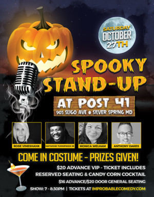 Spooky Stand-Up Comes to Silver Spring