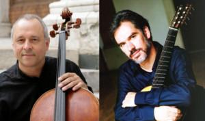 CMSDetroit Presents Frist US Appearances Of Cello-Guitar Duo Antonio Meneses & Paul Galbraith Oct. 26-28