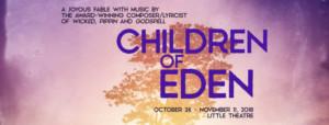 CSUF Announces Fall Musical CHILDREN OF EDEN