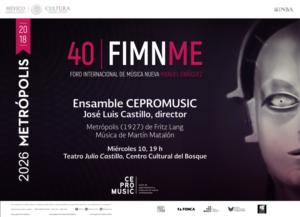 Por Primera Vez En México Se Musicalizará En Vivo Metrópolis De Fritz Lang