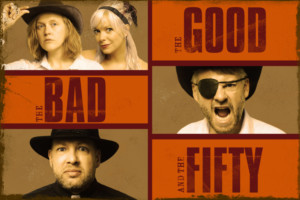 12th Annual London 50-Hour Improvathon, THE GOOD, THE BAD, AND THE FIFTY, Is Set In The Wild West
