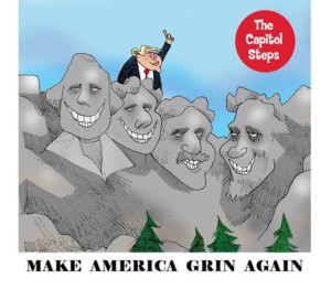 The Capitol Steps Return To Cambridge With MAKE AMERICA GRIN AGAIN