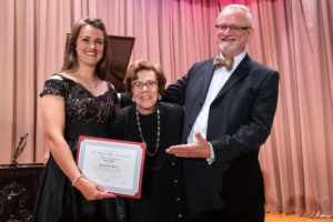 Katherine Beck Wins The 2018 M.Miller International Voice Competition