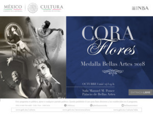 Otorgarán La Medalla Bellas Artes A La Destacada Bailarina Y Coreógrafa Cora Flores