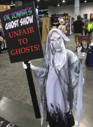 Four Performances Left of DOCTOR ZOMBA'S GHOST SHOW!