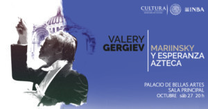 La Orquesta Mariinsky Tocará Por Segunda Ocasión En El Palacio De Bellas Artes