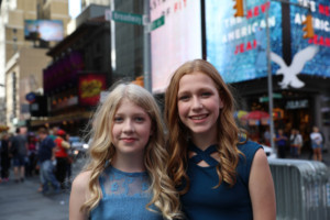 The Young Sisters, Clara and Violet Young Perform An Original Song AtYoung Voices for a Change Benefit