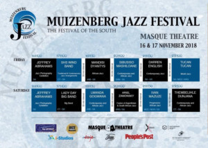 Muizenberg Jazz Festival Comes to The Masque Theatre