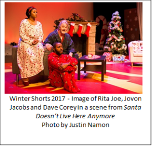 WINTER SHORTS 2018 - A Jolly Program Of New Short Plays That Celebrate The Holidays!