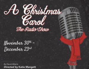 Vintage Theatre Presents A CHRISTMAS CAROL - A RADIO SHOW