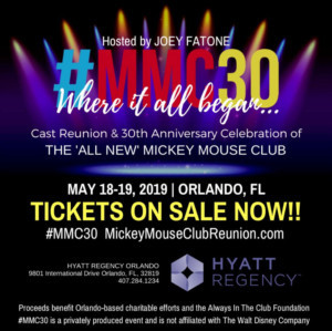 The Mickey Mouse Club #MMC30 Reunion Tickets On-Sale Now