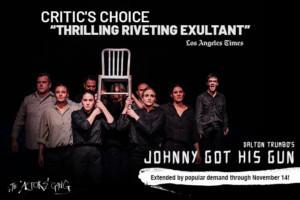 JOHNNY GOT HIS GUN Extends At The Actors Gang Through 11/14